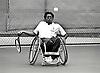 Wheelchair tennis, Nottingham Tennis Centre, UK 1993