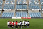 Stuttgart's players during training session .November 11,2010. (ALTERPHOTOS/Acero)