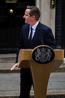 &quot;And the Winner is&hellip; David Cameron Re-elected British Prime Minister&quot;.<br /> <br /> For more pictures and info about this event please click here: http://bit.ly/1F4Ligw<br /> <br /> After 5 years of the Coalition Government (Conservatives and Liberal Democrats) led by the Conservative Party leader David Cameron, British people voted in favour of an end to the coalition arrangement. In fact, the Conservative Party gained 331 seats (36.9% - 11,334,920 votes) in the House of Commons which is a slender overall majority that allows them to form the next Government without the need of a coalition. The other results: Labour Party 232 seats (30,4% - 9,344,328 votes); Scottish National Party, SNP 56 seats (4,7% - 1,454,436 votes); Liberal Democrats 8 seats (7,9% - 2,415,888 votes); United Kingdom Independence Party, UKIP 1 seat (12.6% - 3,881,129 votes); Green Party 1 seat (3,8% - 1,157,613 votes); Democratic Unionist Party 8 seats (0,6% - 184,260 votes); Sinn Fein 4 seats (0,6% - 176,232 votes); Plaid Cymru 3 seats (0,6% - 181,694 votes); Social Democratic &amp; Labour Party 3 seats (0,3% - 99,809 votes); Ulster Unionist Party 2 seats (0,2% - 114,935 votes); others 1 seat. <br /> The definitive turn out of the British General Election 2015 was 66.1% (&lt;&lt;The total size of the electorate will not be known until the tallies are collated individually by councils&gt;&gt; - source the Telegraph). During the day Ed Miliband (Labour leader), Nick Clegg (Liberal Democrats leader), Nigel Farage (UKIP leader) all resigned from their positions as leaders of their respective parties.<br /> <br /> For more information please click here: http://bit.ly/1H3TRrA