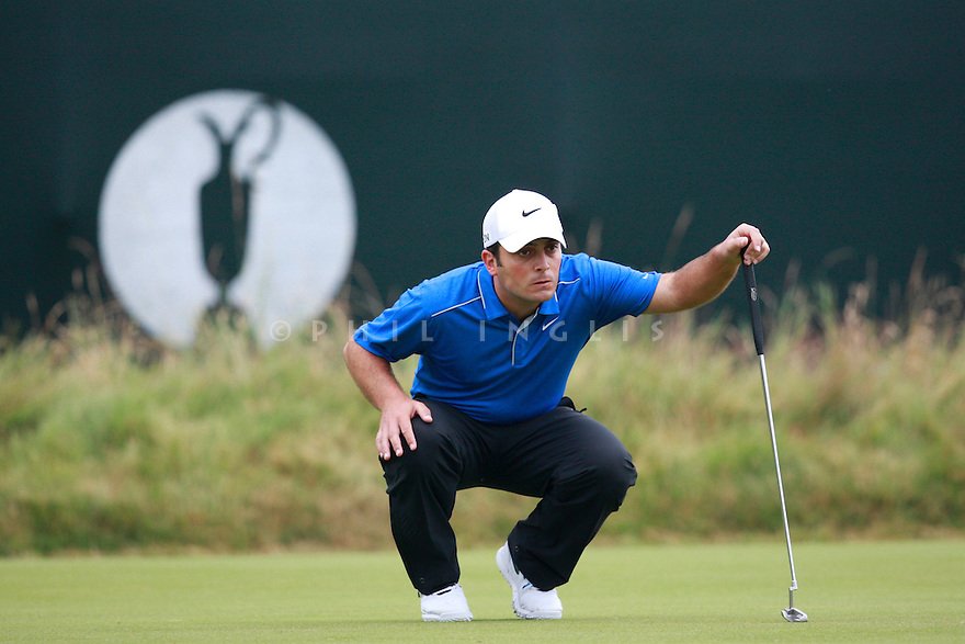 Francesco Molinari (ITA) in action during the third round of the 143rd Open Championship played at Royal Liverpool Golf Club, Hoylake, Wirral, England. 17 - 20 July 2014 (Picture Credit / Phil Inglis)