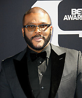 LOS ANGELES, CALIFORNIA - JUNE 23: Tyler Perry attends the 2019 BET Awards on June 23, 2019 in Los Angeles, California. Photo: imageSPACE/MediaPunch