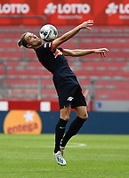 24th May 2020, Opel Arena, Mainz, Rhineland-Palatinate, Germany; Bundesliga football; Mainz 05 versus RB Leipzig;  Kevin Kampl (RB Leipzig) brings down a high ball on his chest