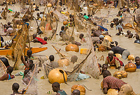 The Crucial Search. Argungu Fishing Festival, Nigeria.