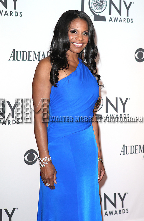 Audra McDonald pictured at the 66th Annual Tony Awards held at The Beacon Theatre in New York City , New York on June 10, 2012. © Walter McBride / WM Photography