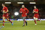 Wales conditioning coach Dan Baugh.<br /> RBS 6 Nations 2014<br /> Wales v Italy<br /> Millennium Stadium<br /> 01.02.14<br /> <br /> &copy;Steve Pope-SPORTINGWALES