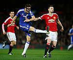 Nemanja Matic of Chelsea has a shot on goal - English Premier League - Manchester Utd vs Chelsea - Old Trafford Stadium - Manchester - England - 28th December 2015 - Picture Simon Bellis/Sportimage