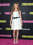 Sarah Hyland at The L.A. Premiere of Spring Breakers held at The Arclight Theater in Hollywood, California on March 14,2013                                                                   Copyright 2013 Hollywood Press Agency