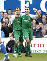 24/02/2007       Copyright Pic: James Stewart.File Name : sct_jspa03_qots_v_hibernian.DAVID MURPHY CELEBRATES WITH STEVEN FLETCHER AFTER HE SCORES HIBS FIRST....James Stewart Photo Agency 19 Carronlea Drive, Falkirk. FK2 8DN      Vat Reg No. 607 6932 25.Office     : +44 (0)1324 570906     .Mobile   : +44 (0)7721 416997.Fax         : +44 (0)1324 570906.E-mail  :  jim@jspa.co.uk.If you require further information then contact Jim Stewart on any of the numbers above.........