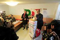 Elezioni  primarie del centrosinistra per la scelta del candidato  a presidente della regione campania<br /> nella foto anddrea cozzolino