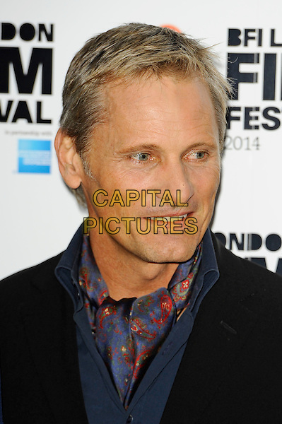 LONDON, ENGLAND - OCTOBER 18: Viggo Mortensen attends 'Far From Men' Screening at the 58th BFI London Film Festival at Vue West End Cinema, Leicester Square on October 18, 2014 in London, England.<br /> CAP/MAR<br /> &copy; Martin Harris/Capital Pictures