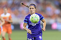 Samantha Witteman (26) of the Orlando Pride chases down a loose ball against the Houston Dash on Friday, May 20, 2016 at BBVA Compass Stadium in Houston Texas. The Orlando Pride defeated the Houston Dash 1-0.