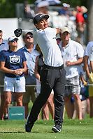 C.T. Pan (TAI) watches his tee shot on 3 during round 2 of the 2019 Charles Schwab Challenge, Colonial Country Club, Ft. Worth, Texas,  USA. 5/24/2019.<br /> Picture: Golffile   Ken Murray<br /> <br /> All photo usage must carry mandatory copyright credit (© Golffile   Ken Murray)
