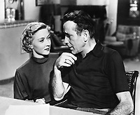 Gloria Grahame and Humphrey Bogart in Nicholas Ray's IN A LONELY PLACE (1950).