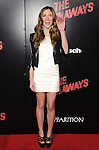 Kayla Ewell  at APPARITION'S L.A. Premiere of The Runaways held at The Arclight Cinerama Dome in Hollywood, California on March 11,2010                                                                   Copyright 2010 DVS / RockinExposures..