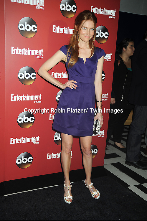 """Darby Stanchfield  of """" Scandal"""" at the Entertainment Weekly and ABC-TV Upfront Party at The General on May 14, 2013 in New York City."""