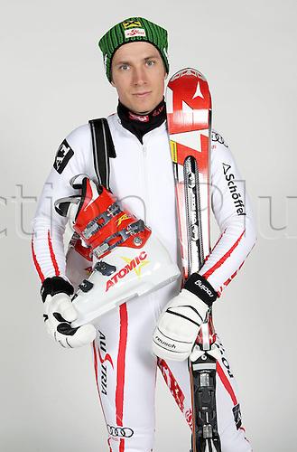 16.10.2010  Winter sports OSV Einkleidung Innsbruck Austria. Ski Alpine OSV Austrian Ski Federation. Picture shows Marcel Hirscher AUT