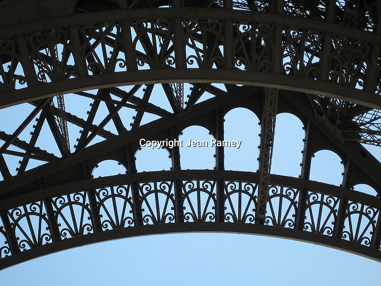 Eiffel Tower Triptych - Center