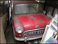 Barn find Mini is one of the oldest surviving.