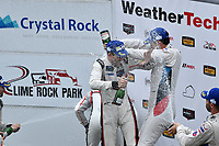 IMSA WeatherTech SportsCar Championship<br /> Northeast Grand Prix<br /> Lime Rock Park, Lakeville, CT USA<br /> Saturday 22 July 2017<br /> 911, Porsche, Porsche 911 RSR, GTLM, Patrick Pilet, Dirk Werner<br /> World Copyright: Richard Dole<br /> LAT Images