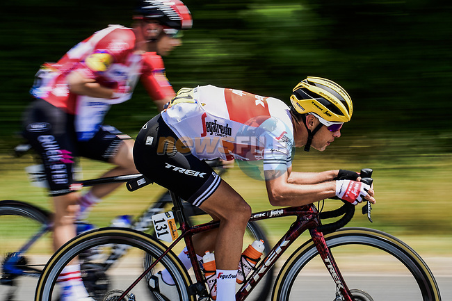 Richie Porte (AUS) Trek-Segafredo in action during Stage 10 of the 2019 Tour de France running 217.5km from Saint-Flour to Albi, France. 15th July 2019.<br /> Picture: ASO/Pauline Ballet   Cyclefile<br /> All photos usage must carry mandatory copyright credit (© Cyclefile   ASO/Pauline Ballet)