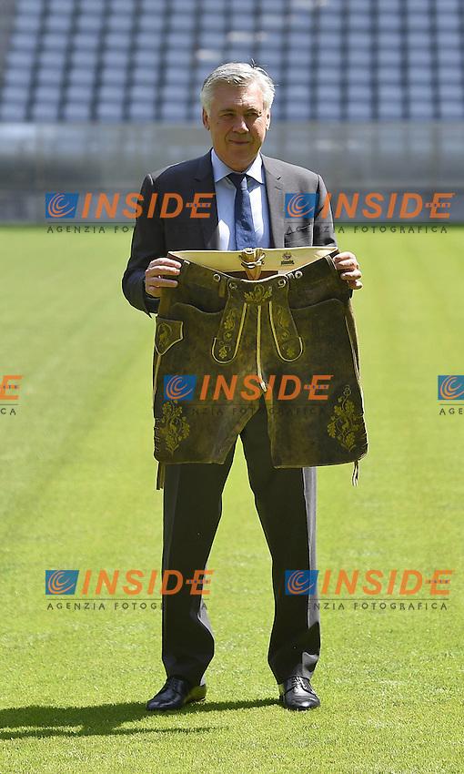 Carlo Ancelotti nuovo allenatore del Bayern Monaco <br /> 11-07-2016 Press conference the new Trainers Carlo Ancelotti <br /> Foto imago/MIS/Insidefoto