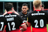 Billy Vunipola of Saracens looks on after the match. Aviva Premiership semi final, between Saracens and Leicester Tigers on May 21, 2016 at Allianz Park in London, England. Photo by: Patrick Khachfe / JMP