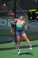 Aimee Michelle Brown. 2019 Wellington Tennis Open at Renouf Centre in Wellington, New Zealand on Thursday, 19 December 2019. Photo: Dave Lintott / lintottphoto.co.nz