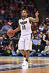 MILWAUKEE, WI - MARCH 18: Purdue Boilermakers guard P.J. Thompson (11) gestures up-court during the first half of the 2017 NCAA Men's Basketball Tournament held at BMO Harris Bradley Center on March 18, 2017 in Milwaukee, Wisconsin. (Photo by Jamie Schwaberow/NCAA Photos via Getty Images)