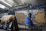 "URUGUAY Gerberei Bader in Dep. San Jose, Herstellung von Leder fuer Autositze u.a fuer BMW    .URUGUAY tannery Bader production of leather from cow skin for car seats of BMW.  -   .  [ copyright (c) Joerg Boethling / agenda , Veroeffentlichung nur gegen Honorar und Belegexemplar an / publication only with royalties and copy to:  agenda PG   Rothestr. 66   Germany D-22765 Hamburg   ph. ++49 40 391 907 14   e-mail: boethling@agenda-fototext.de   www.agenda-fototext.de   Bank: Hamburger Sparkasse  BLZ 200 505 50  Kto. 1281 120 178   IBAN: DE96 2005 0550 1281 1201 78   BIC: ""HASPDEHH"" ,  WEITERE MOTIVE ZU DIESEM THEMA SIND VORHANDEN!! MORE PICTURES ON THIS SUBJECT AVAILABLE!! ] [#0,26,121#]"