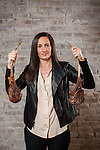 Manager and partner Leslie Affre at Beast & Bottles in Brooklyn Heights holding tomahawk ribeyes. <br /> <br /> <br /> <br /> Danny Ghitis for The New York Times
