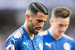 Leicester City FC midfielder Riyad Mahrez reacts during the Premier League Asia Trophy match between Leicester City FC and West Bromwich Albion at Hong Kong Stadium on 19 July 2017, in Hong Kong, China. Photo by Weixiang Lim / Power Sport Images