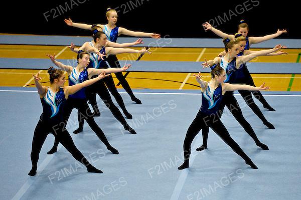 5.05.2012 Gymnastics TeamGym  British Championships  from Gloucester.