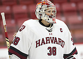 Emerance Maschmeyer (Harvard - 38) - The visiting Boston College Eagles defeated the Harvard University Crimson 2-0 on Tuesday, January 19, 2016, at Bright-Landry Hockey Center in Boston, Massachusetts.