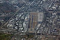 aerial photograph John Wayne Airport (SNA), Orange County, California