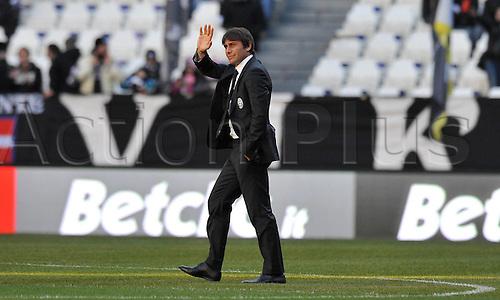 18.12.2011. Turin, Italy.   Antonio Conte Juventus   Series A 2011 2012 Juventus Torino vs Novara Calcio