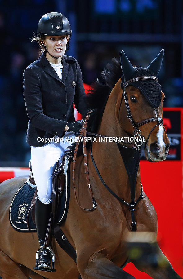 4.12.2014; Paris, France: MARTA ORTEGA-PEREZ<br /> participates in the Masters Grand Slam competition, the Gucci Paris Masters 2014 at Paris Nord Villepinte.<br /> Mandatory Credit Photos: &copy;Huitel-Crystal/NEWSPIX INTERNATIONAL<br /> <br /> **ALL FEES PAYABLE TO: &quot;NEWSPIX INTERNATIONAL&quot;**<br /> <br /> PHOTO CREDIT MANDATORY!!: NEWSPIX INTERNATIONAL(Failure to credit will incur a surcharge of 100% of reproduction fees)<br /> <br /> IMMEDIATE CONFIRMATION OF USAGE REQUIRED:<br /> Newspix International, 31 Chinnery Hill, Bishop's Stortford, ENGLAND CM23 3PS<br /> Tel:+441279 324672  ; Fax: +441279656877<br /> Mobile:  0777568 1153<br /> e-mail: info@newspixinternational.co.uk
