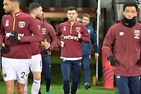 Aaron Cresswell of West Ham United during West Ham United vs Liverpool, Premier League Football at The London Stadium on 4th February 2019