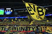 13th September 2017, Wembley Stadium, London, England; Champions League Group stage, Tottenham Hotspur versus Borussia Dortmund; Borussia Dortmund fans