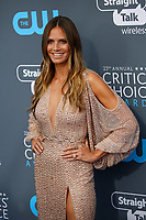 Heidi Klum attends the 23rd Annual Critics' Choice Awards at Barker Hangar in Santa Monica, Los Angeles, USA, on 11 January 2018. Photo: Hubert Boesl - NO WIRE SERVICE - Photo: Hubert Boesl/dpa /MediaPunch ***FOR USA ONLY***