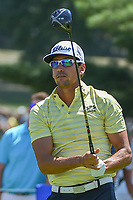 Rafael Cabrera Bello (ESP) watches his tee shot on 8 during 3rd round of the World Golf Championships - Bridgestone Invitational, at the Firestone Country Club, Akron, Ohio. 8/4/2018.<br /> Picture: Golffile | Ken Murray<br /> <br /> <br /> All photo usage must carry mandatory copyright credit (© Golffile | Ken Murray)
