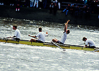 Rowers celebrate win