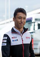 Kazuki Nakajima (JPN) of TOYOTA GAZOO RACING (JPN) during the 2018 Silverstone - FIA World Endurance Championship at Silverstone Circuit, Towcester, England on 17 August 2018. Photo by Vince  Mignott.