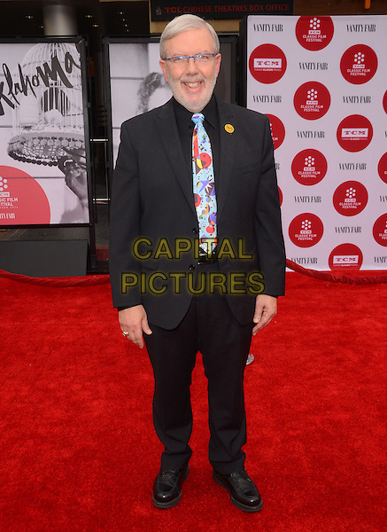 10 April 2014 - Hollywood, California - Leonard Maltin. Arrivals for the world premiere of the restoration of &quot;Oklahoma&quot; held at the TCL Chinese Theatre IMAX in Hollywood, Ca.  <br /> CAP/ADM/BT<br /> &copy;Birdie Thompson/AdMedia/Capital Pictures