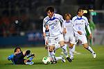 Koichi Sato (V Varen), .APRIL 17, 2013 - Football /Soccer : 2013 J.LEAGUE Division 2 ,9th sec match between Yokohama FC 1-2 V Varen Nagasaki at NHK Spring Mitsuzawa Football Stadium, Kanagawa, Japan. (Photo by Jun Tsukida/AFLO SPORT).