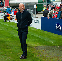 Exeter City manager Paul Tisdale <br /> <br /> Photographer Andrew Vaughan/CameraSport<br /> <br /> The EFL Sky Bet League Two Play Off First Leg - Lincoln City v Exeter City - Saturday 12th May 2018 - Sincil Bank - Lincoln<br /> <br /> World Copyright &copy; 2018 CameraSport. All rights reserved. 43 Linden Ave. Countesthorpe. Leicester. England. LE8 5PG - Tel: +44 (0) 116 277 4147 - admin@camerasport.com - www.camerasport.com