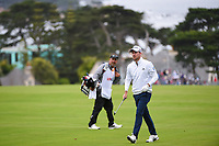 Nick Taylor (CAN) after hitting his approach shot on 11 during round 3 of the 2019 US Open, Pebble Beach Golf Links, Monterrey, California, USA. 6/15/2019.<br /> Picture: Golffile | Ken Murray<br /> <br /> All photo usage must carry mandatory copyright credit (© Golffile | Ken Murray)