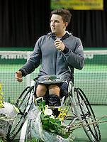 Februari 13, 2015, Netherlands, Rotterdam, Ahoy, ABN AMRO World Tennis Tournament, Gordon Reid (GBR)<br /> Photo: Tennisimages/Henk Koster