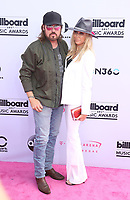 21 May 2017 - Las Vegas, Nevada - Billy Ray Cyrus, Tish Cyrus. 2017 Billlboard Music Awards Arrivals at T-Mobile Arena. Photo Credit: MJT/AdMedia