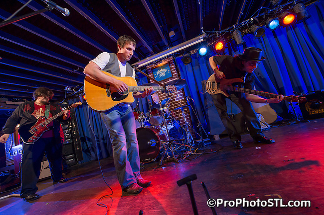 Trestle in concert at Duck Room of Blueberry Hill in St. Louis, MO on Apr 7, 2012.