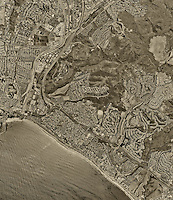 historical aerial photograph Capistrano Beach, California, 1994